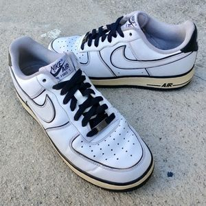 Nike Air Force 1 '07 White Black Low
